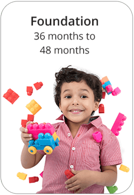 Foundation age 36 to 48 months at a Nursery and Preschool in Abu Dhabi and Dubai