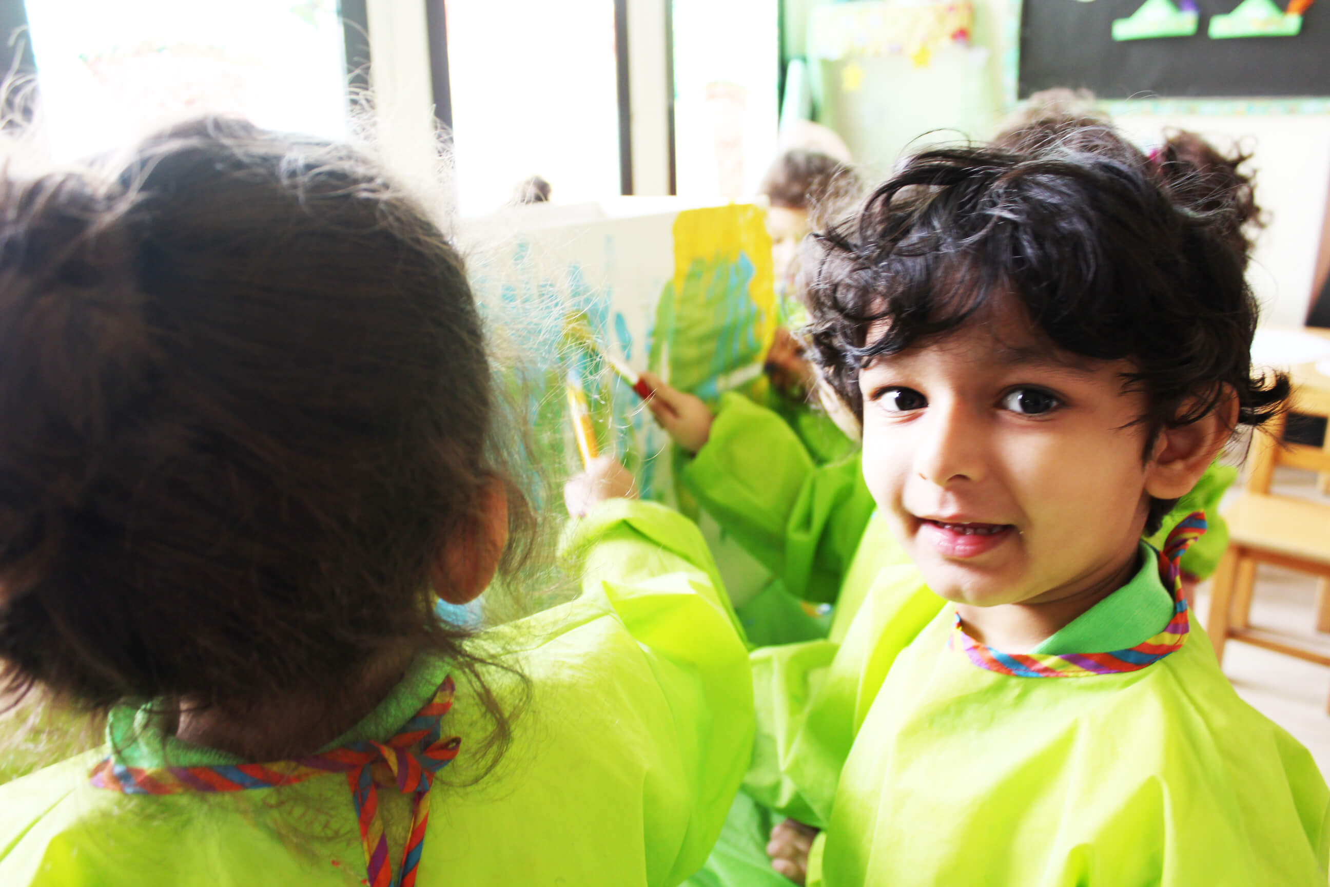 Childcare and nursery preschool - art program - Dubai and Abu Dhabi
