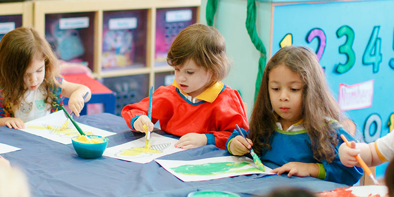 sbs-benefits-of-art at a Nursery and Preschool in Abu Dhabi and Dubai